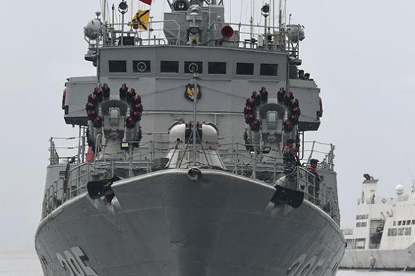 Laut China Selatan Kembali Memanas , Bakamla RI dan TNI AL Gelar Patroli