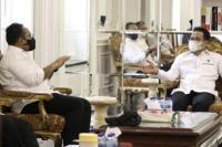 Ketum PKB, Abdul Muhaimin Iskandar (Gus AMI) bertemu dengan Menag Yaqut Cholil Qoumas