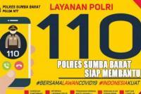 Polres Sumba Barat Maksimalkan Call Center 110 Polri