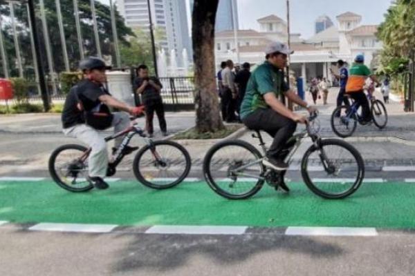 Jalur Sepeda DKI Akan Bertambah 101 Kilometer