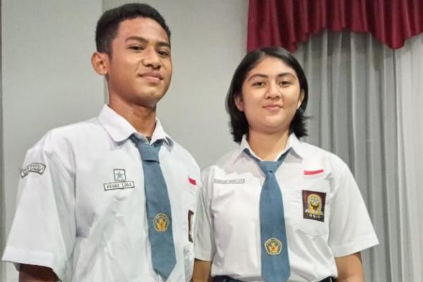 Dua calon Pasukan Pengibaran Bendera Pusaka (Paskibraka) asal Kota Kupang yakni Jossy Reggyandro Lobo dan Aurellya Valerini Sampelan lolos tingkat nasional.