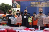 Polisi sita aset sindikat narkoba lintas negara belasan miliar rupiah. (Foto : Jurnas/Ist).