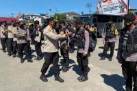 Jelang Pilkades, Puluhan Anggota Polres Sumba Barat BKO ke SBD