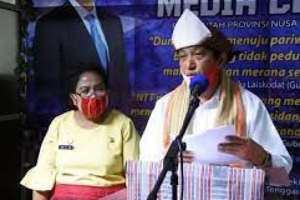 Juru Bicara Gugus Tugas Percepatan Penanganan COVID-19 Nusa Tenggara Timur, Marius Ardu Jelamu. (foto: Antara)
