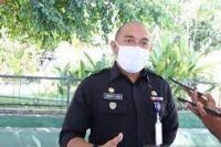 Juru bicara gugus tugas percepatan penanganan COVID-19 Kota Kupang, Nusa Tenggara Timur, Ernest Ludji. (foto: Antara)